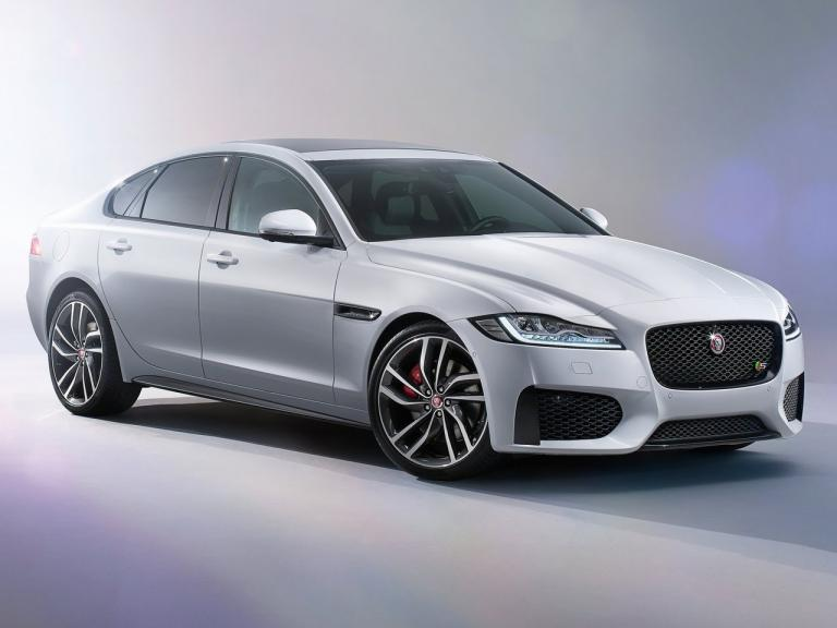 Frontal Jaguar XF