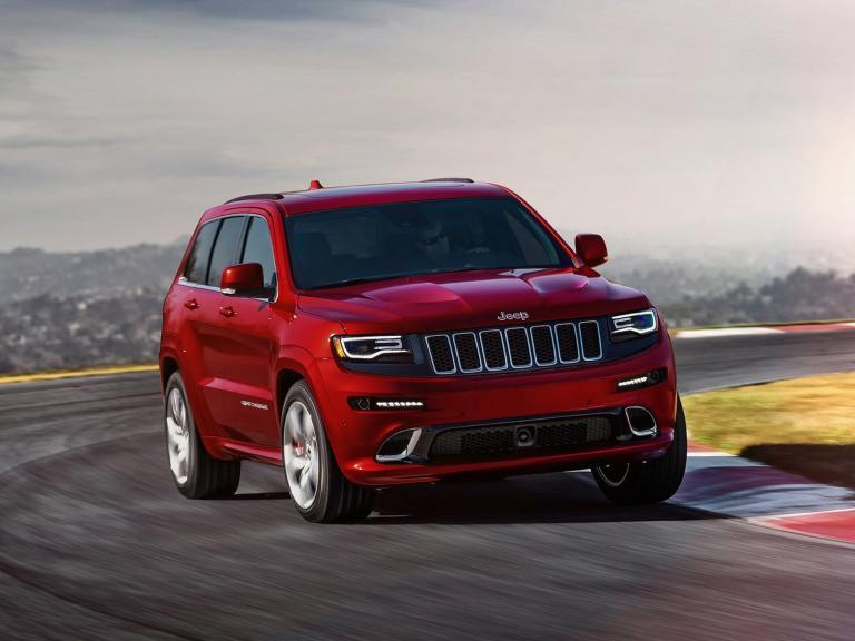 vista frontal jeep grand cherokee