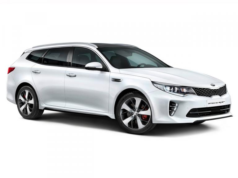 vista frontal kia optima sportswagon