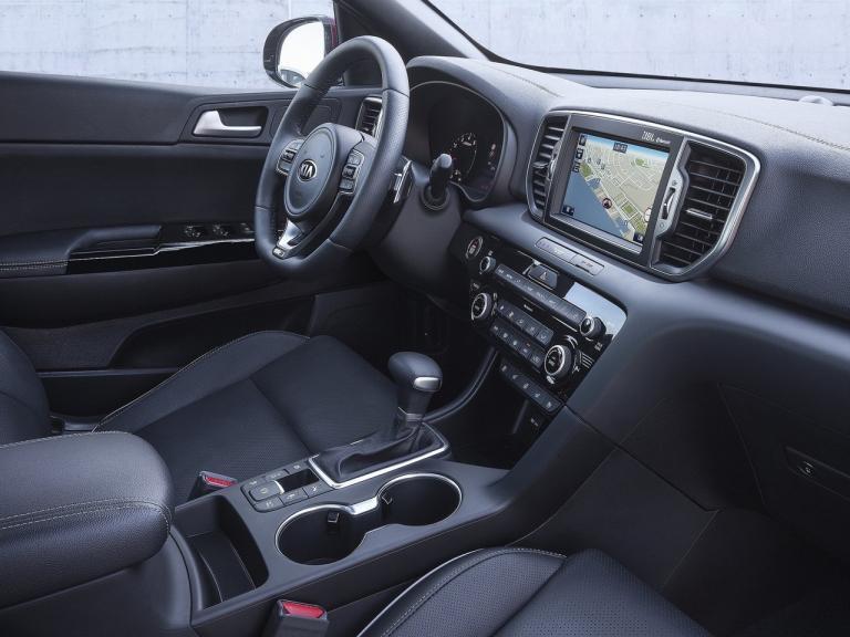Interior Kia Sportage