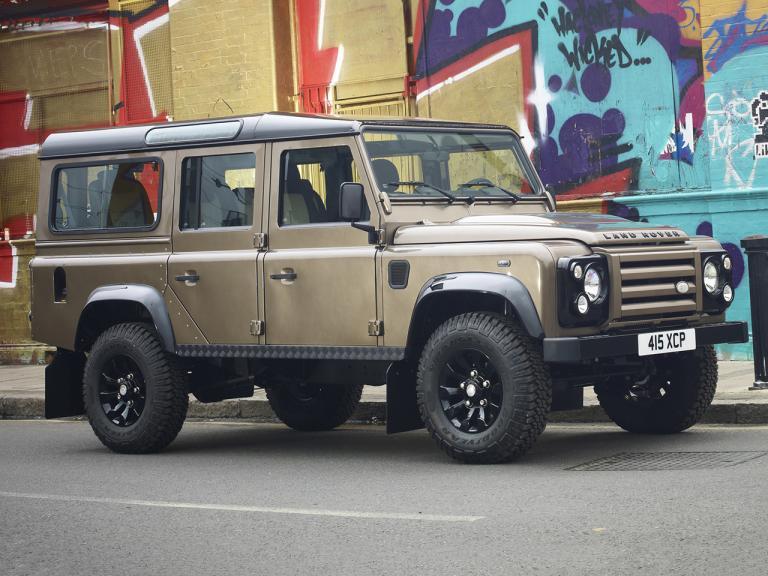 Frontal Land Rover Defender 110