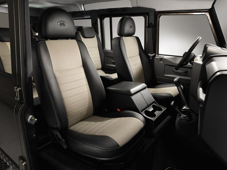 Interior Land Rover Defender