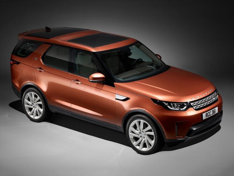 Land Rover Discovery exterior