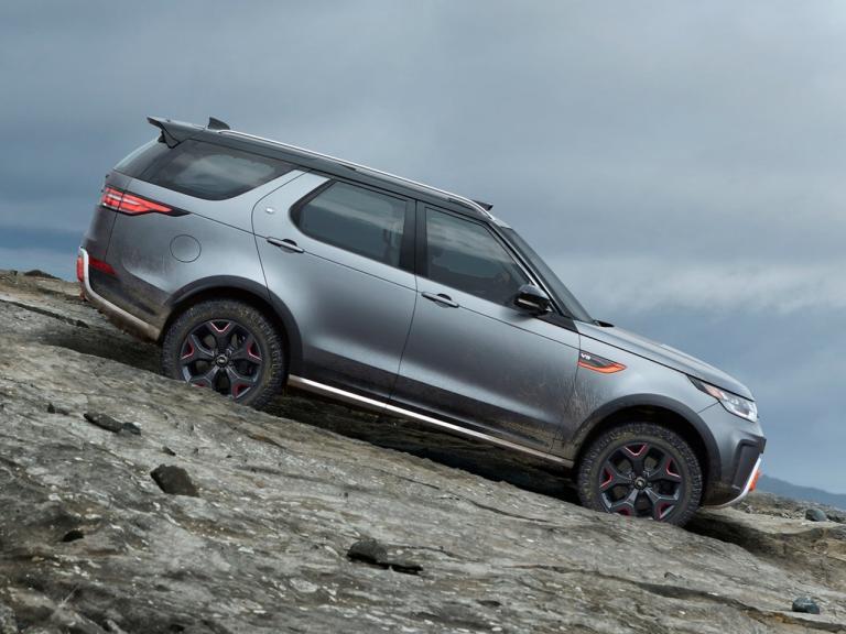 Land Rover Discovery SVX exterior