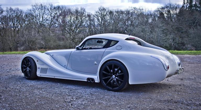 vista trasera morgan aero coupe