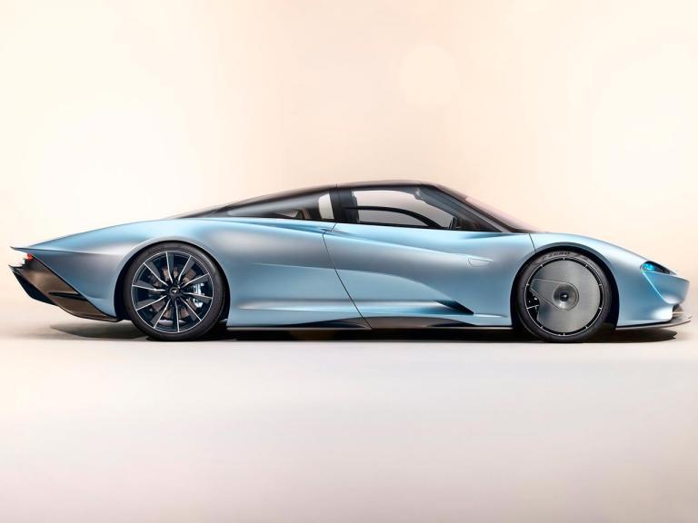 Lateral McLaren Speedtail