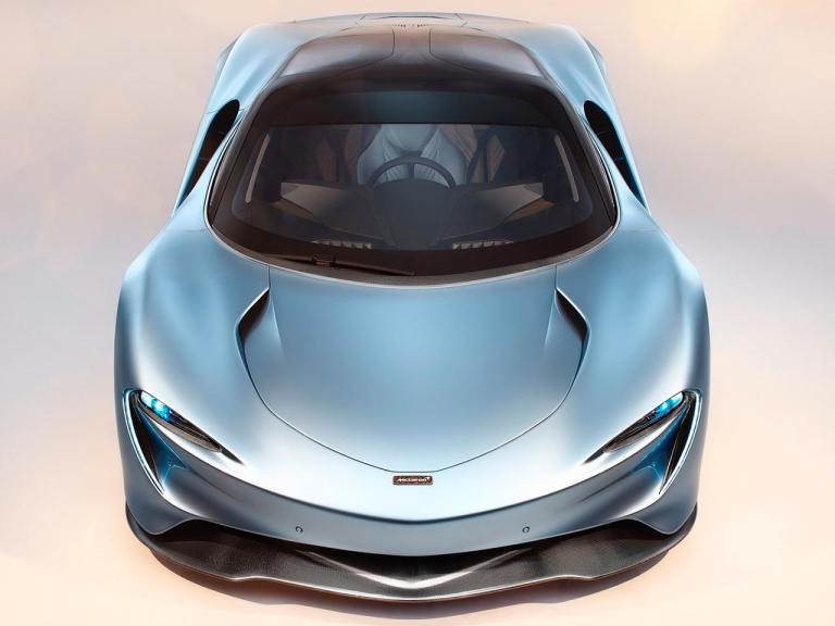 Frontal McLaren Speedtail