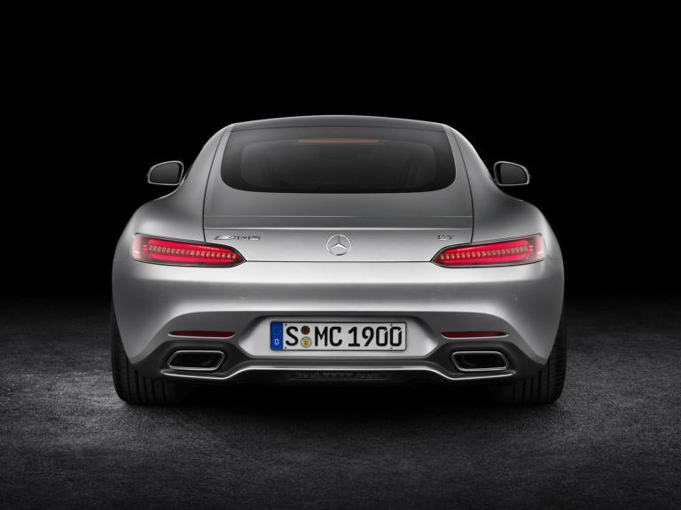 Trasera Mercedes-AMG GT