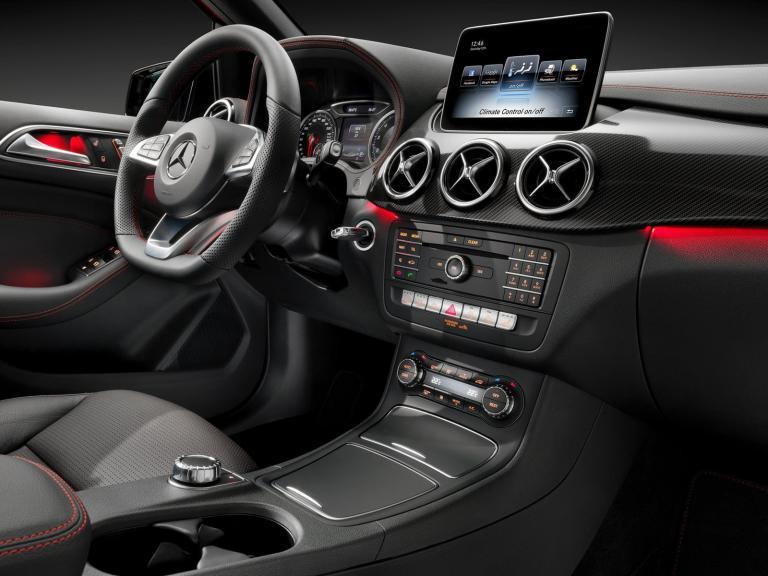 Interior Mercedes Clase B