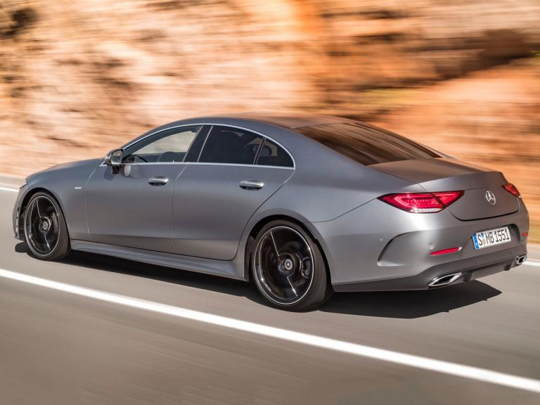Lateral Mercedes CLS