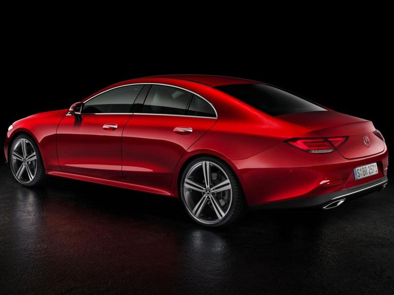 Trasera Mercedes CLS