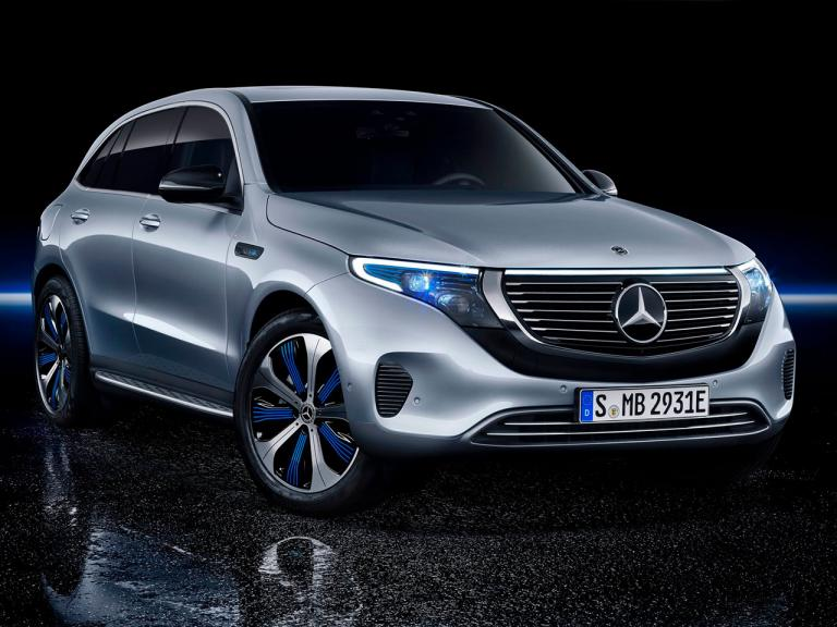 Mercedes EQC frontal