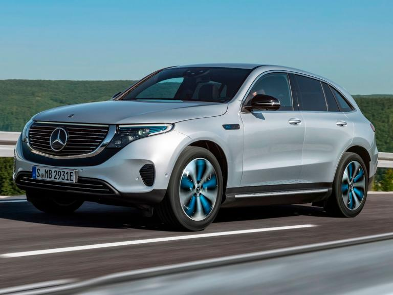 Mercedes EQC delantera