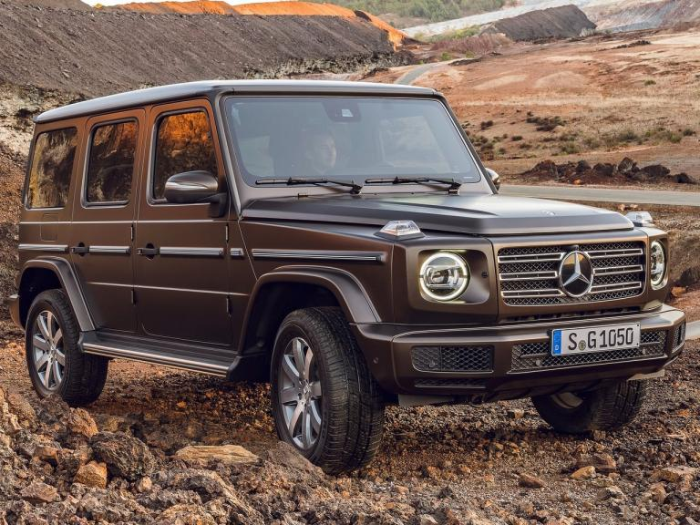 vista frontal mercedes clase g