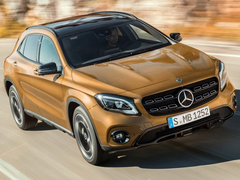 Frontal Mercedes GLA