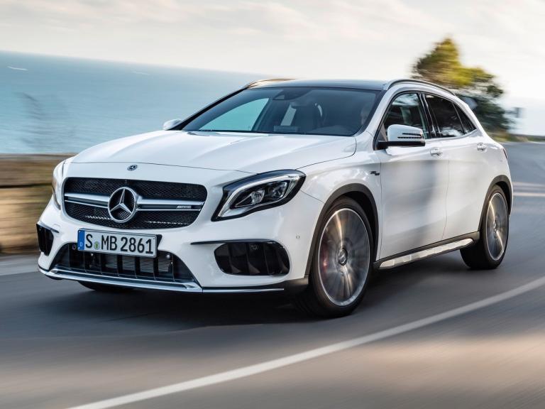 Vista Externa Mercedes GLA AMG
