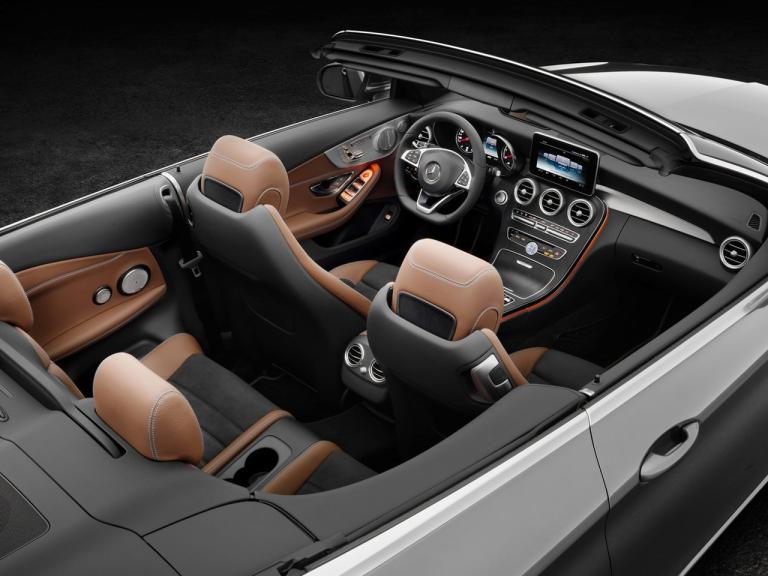 Interior Mercedes Clase C Cabrio