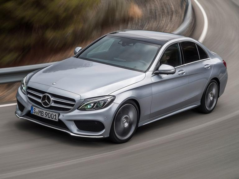 Frontal Mercedes Clase C Berlina