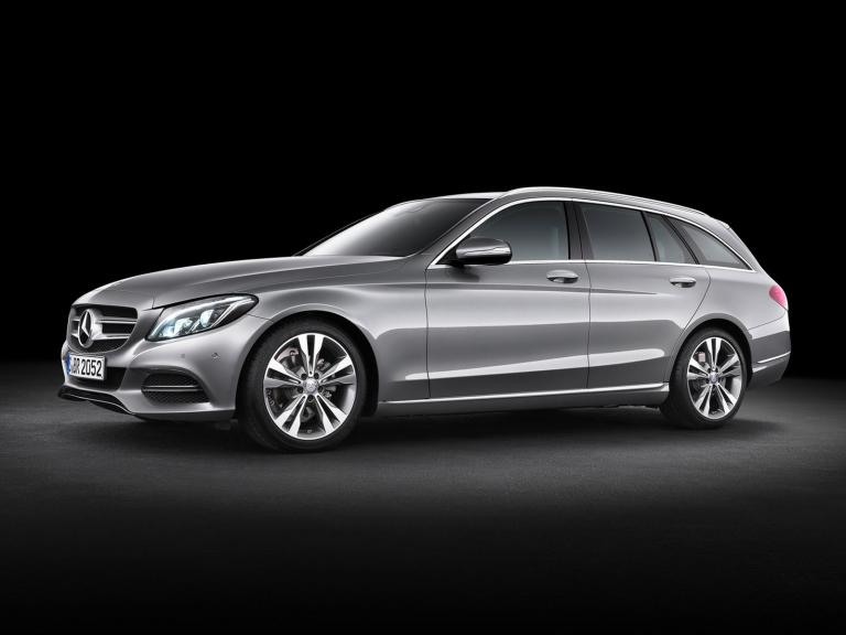 Frontal Mercedes Clase C Estate