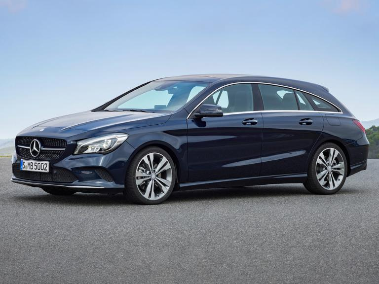 Clase CLA Shooting Brake visto por fuera