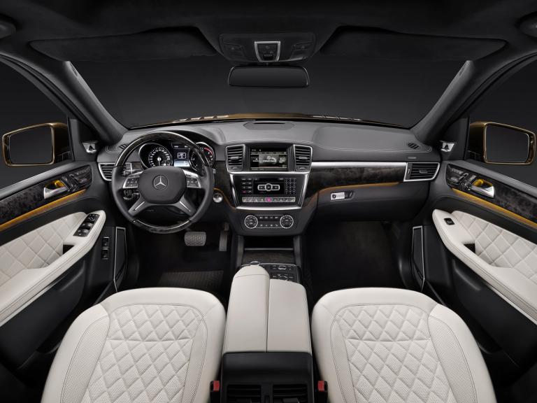 vista interior mercedes clase gl