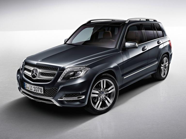 vista frontal mercedes clase glk