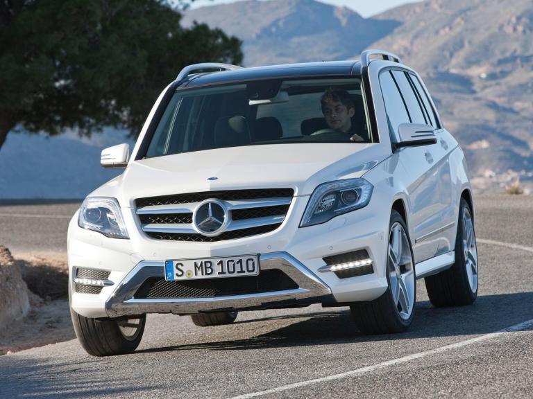 Frontal Mercedes GLK