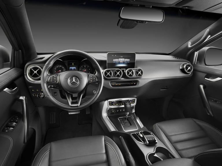 Interior Mercedes Clase X