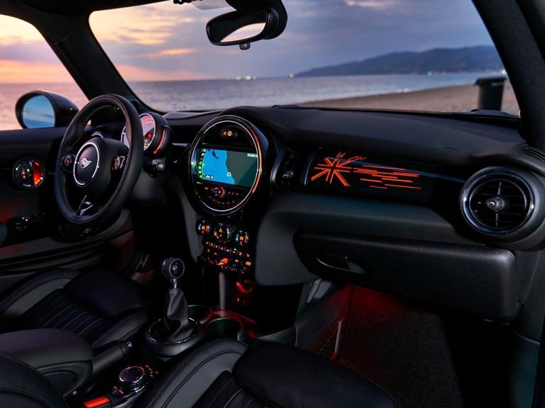 Mini Cabrio interior
