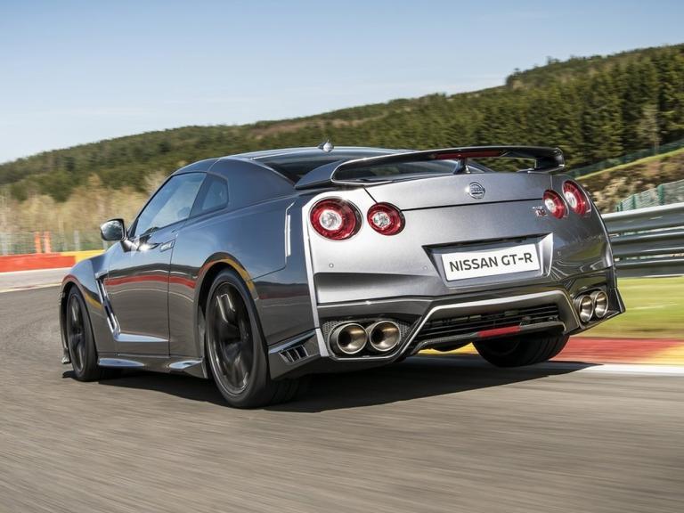 Trasera Nissan GT-R