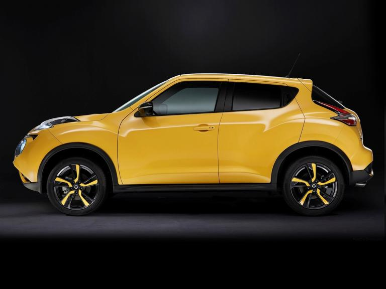 Lateral Nissan Juke