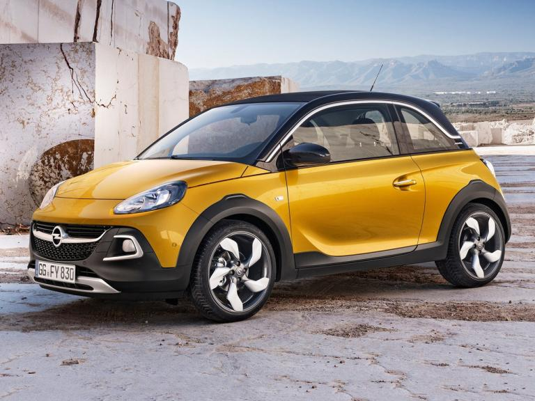 Frontal Opel Adam Rocks