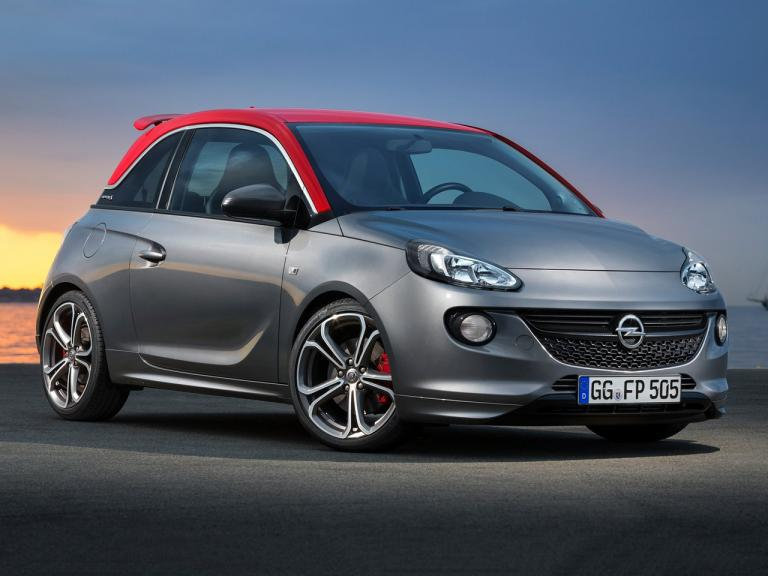 Frontal Opel Adam