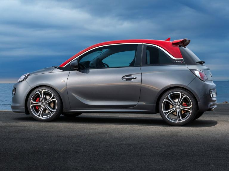 Lateral Opel Adam