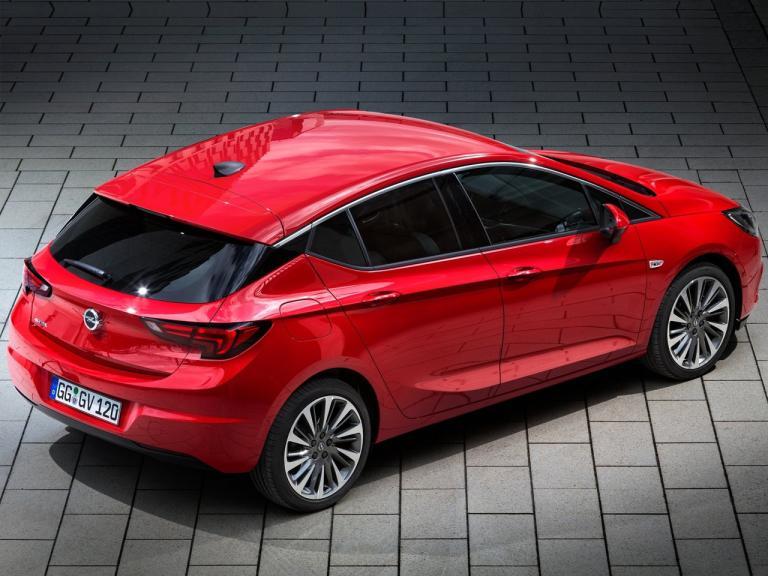 Trasera Opel Astra