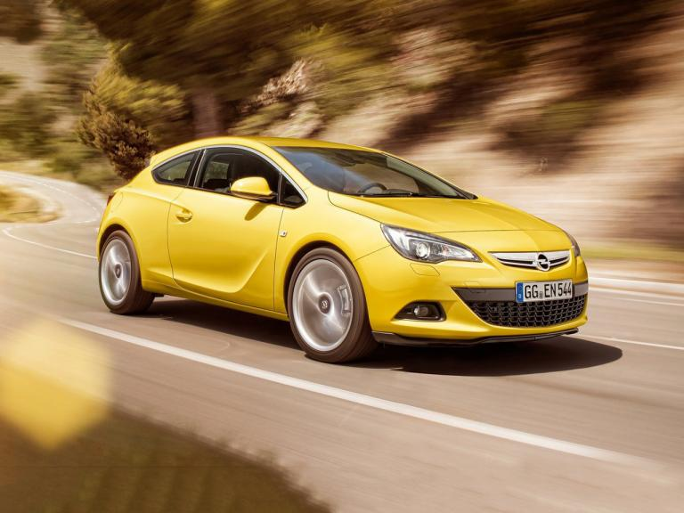 Frontal Opel Astra GTC