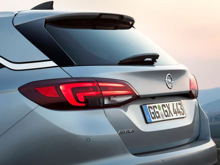Maletero Opel Astra Sports Tourer