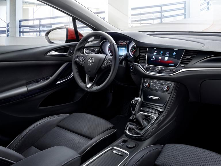 Interior Opel Astra