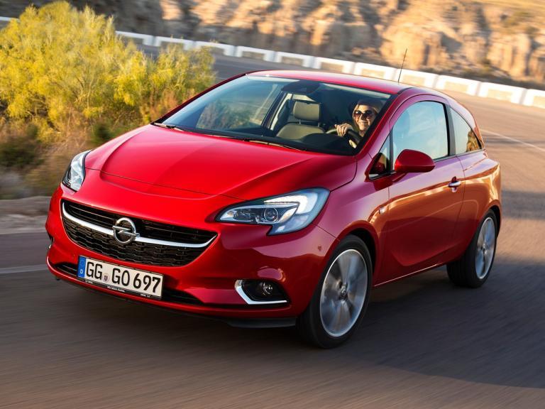 Frontal Opel Corsa