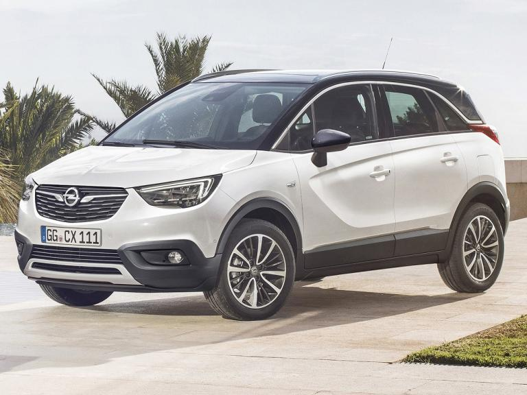 vista frontal opel crossland x