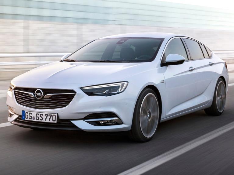 Frontal Opel Insignia Grand Sport