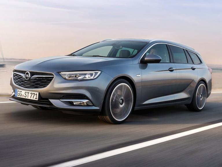 Frontal Opel Insignia Sports Tourer