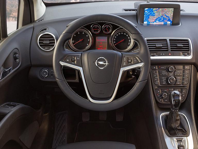 Interior Opel Meriva
