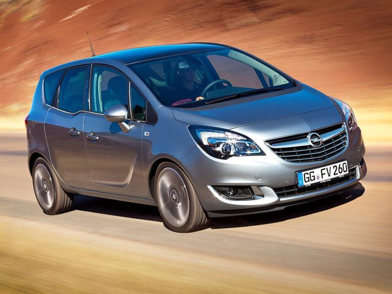 Frontal Opel Meriva
