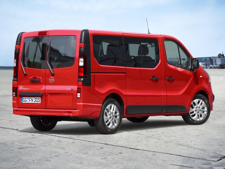 Trasera Opel Vivaro