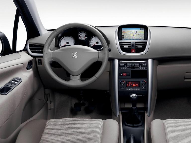 Interior Peugeot 207