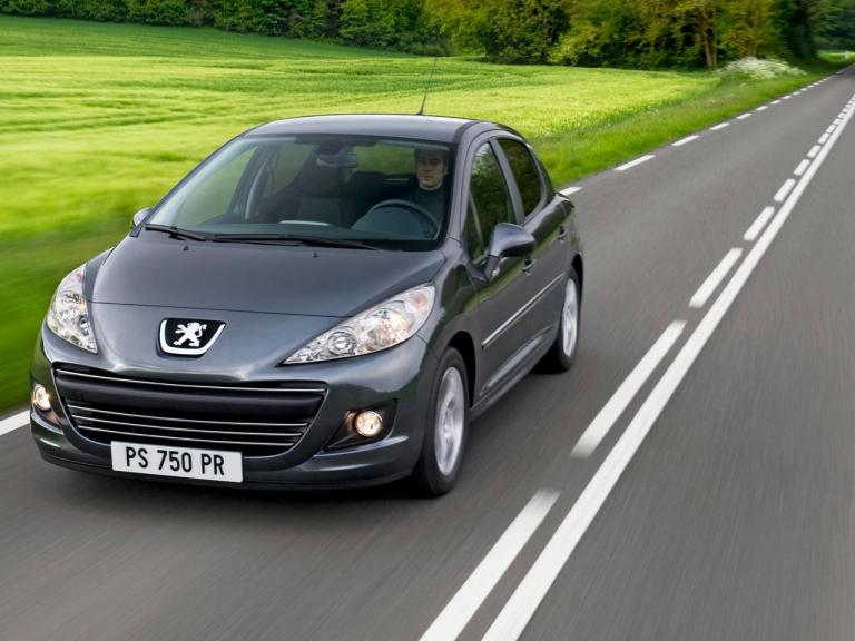 Frontal Peugeot 207