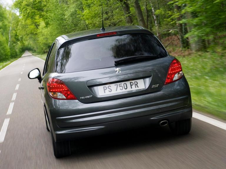 Trasera Peugeot 207