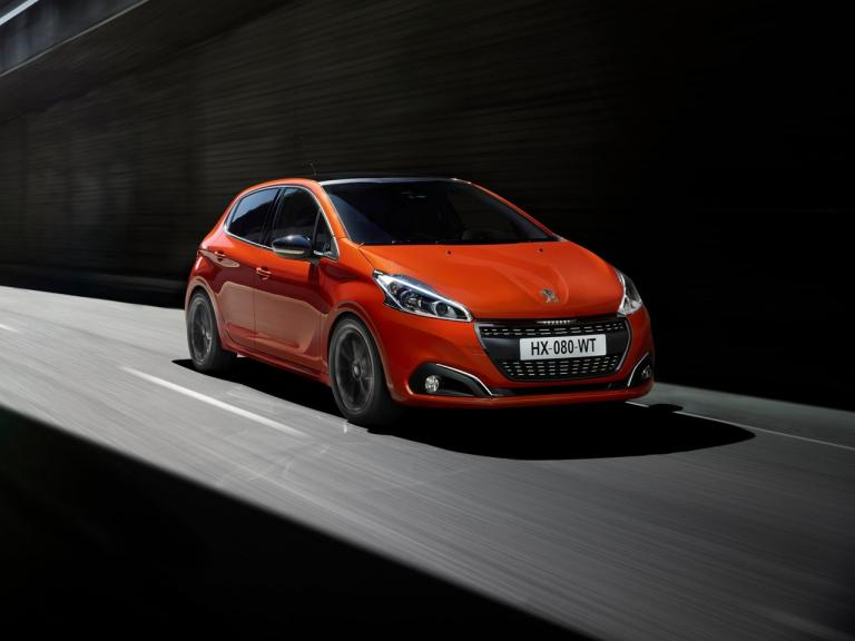 Frontal Peugeot 208