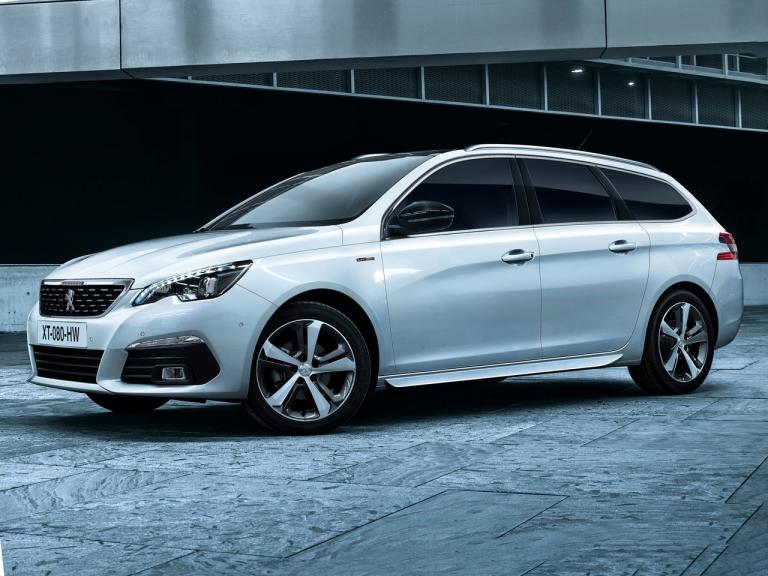 Lateral Peugeot 308 SW